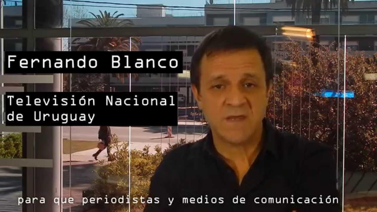 Fernando Blanco Apoya El Código De Ética Periodística