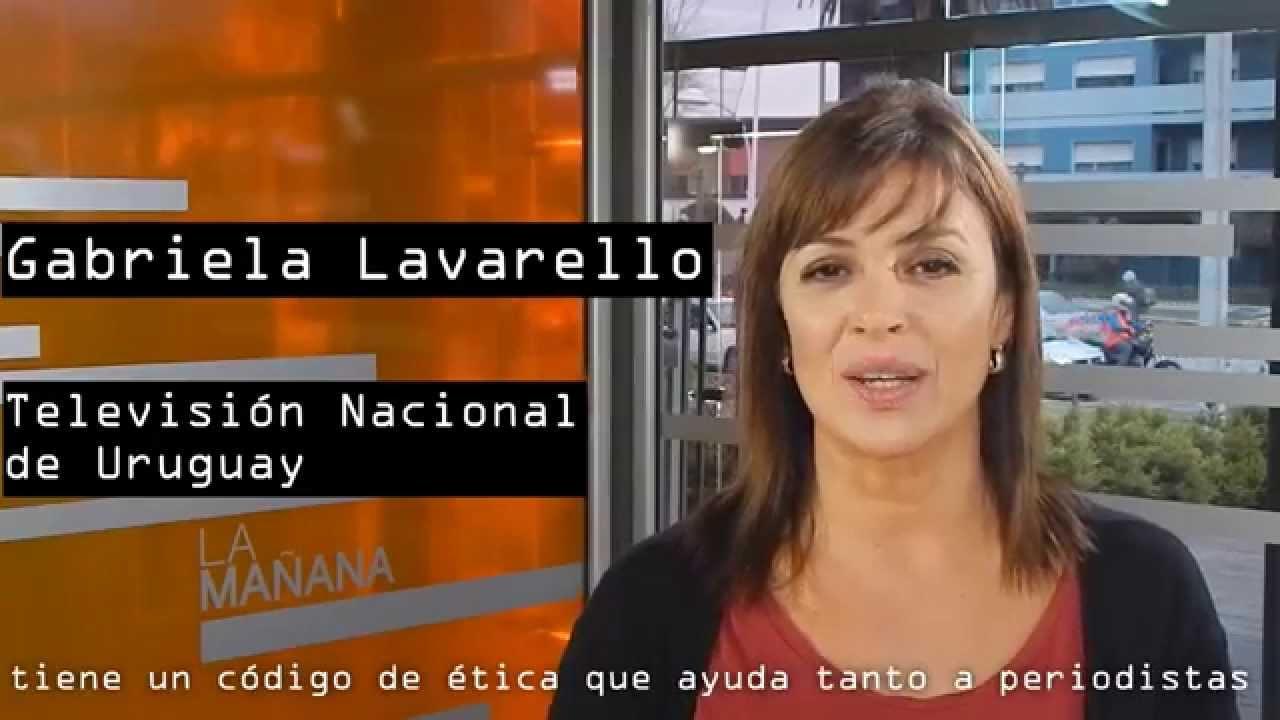 Gabriela Lavarello Apoya El Código De Ética Periodística