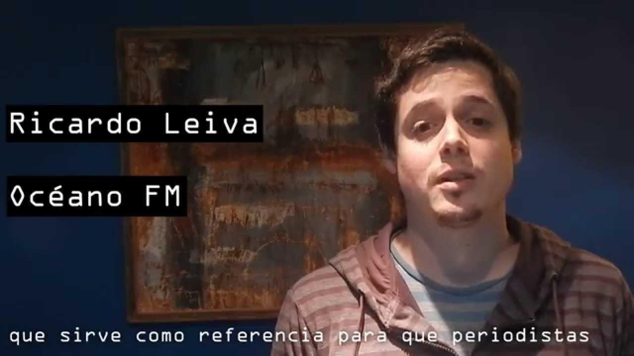 Ricardo Leiva Apoya El Código De Ética Periodística